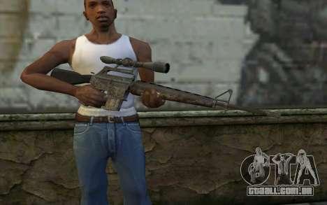M16S from Battlefield: Vietnam para GTA San Andreas terceira tela