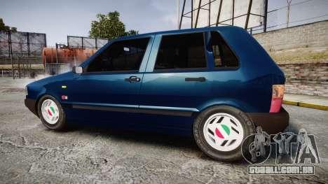 Fiat Uno para GTA 4 esquerda vista