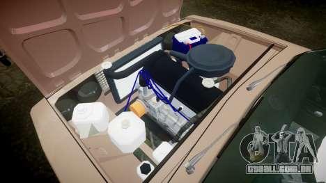 VAZ-2106 hooligan Azerbaijani velho estilo para GTA 4 vista interior