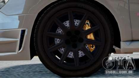 Subaru Impreza WRX STi para GTA 4 vista direita