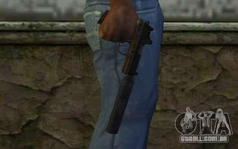 FN FNP-45 Com Silenciador e Mira para GTA San Andreas terceira tela