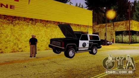 O renascimento de todas as delegacias de polícia para GTA San Andreas sexta tela