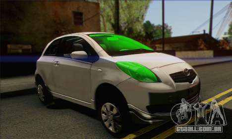 Toyota Yaris Shark Edition para GTA San Andreas