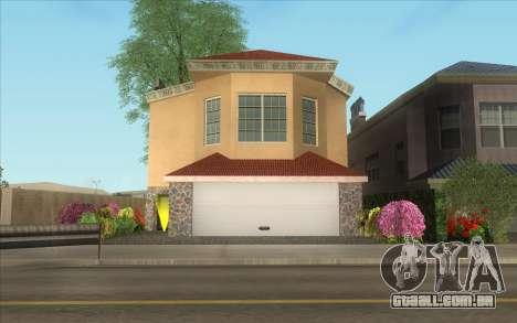 Nova casa, em Las Venturas para GTA San Andreas segunda tela