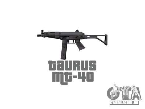 Arma da Taurus MT-40 buttstock2 icon2 para GTA 4 terceira tela
