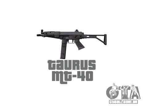 Arma da Taurus MT-40 buttstock2 icon2 para GTA 4 terceira tela