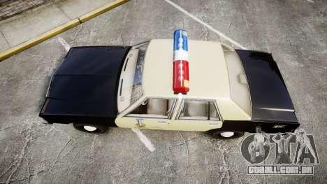Ford LTD Crown Victoria 1987 LAPD [ELS] para GTA 4 vista direita
