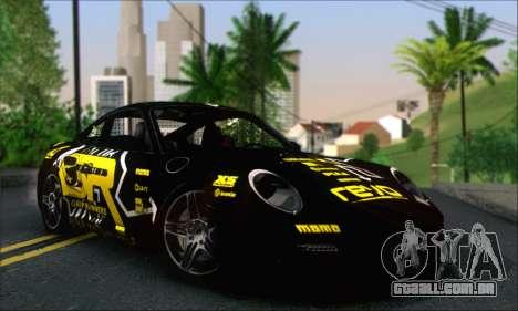 Porsche 997 Turbo Tunable para GTA San Andreas interior