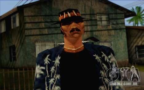 Cartel from GTA Vice City Skin 2 para GTA San Andreas terceira tela