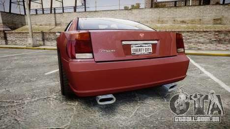 Bravado Buffalo SRT para GTA 4 traseira esquerda vista