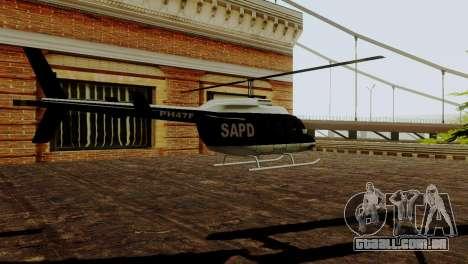 Veículos novos em SFPD para GTA San Andreas por diante tela