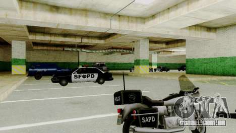 Veículos novos em SFPD para GTA San Andreas terceira tela