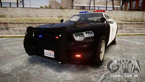 GTA V Bravado Buffalo LS Police [ELS] para GTA 4