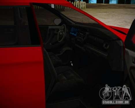 Bravado Gresley para GTA San Andreas traseira esquerda vista