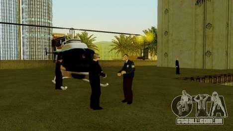 Um novo transporte em LSPD e o seu renascimento para GTA San Andreas sexta tela
