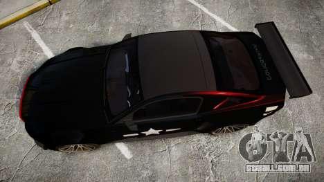 Ford Mustang GT 2014 Custom Kit PJ5 para GTA 4 vista direita