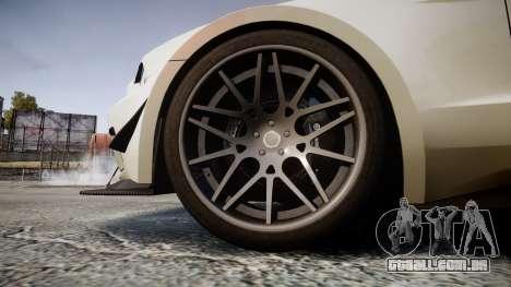 Ford Mustang GT 2014 Custom Kit PJ3 para GTA 4 vista de volta