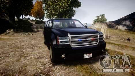 GTA V Declasse Granger Unmarked [ELS] Slicktop para GTA 4