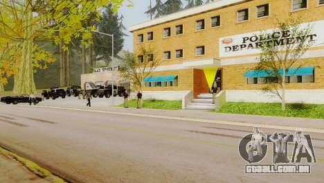 O renascimento de todas as delegacias de polícia para GTA San Andreas quinto tela