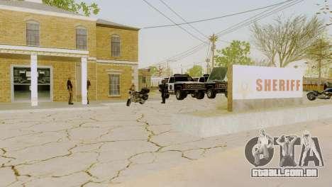 O renascimento de todas as delegacias de polícia para GTA San Andreas décima primeira imagem de tela