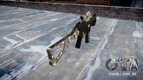 Arma UMP45 de Fibra de Carbono para GTA 4 segundo screenshot