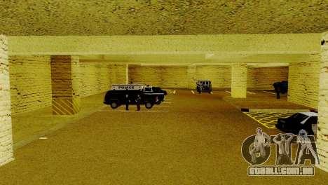 Um novo transporte em LSPD e o seu renascimento para GTA San Andreas por diante tela