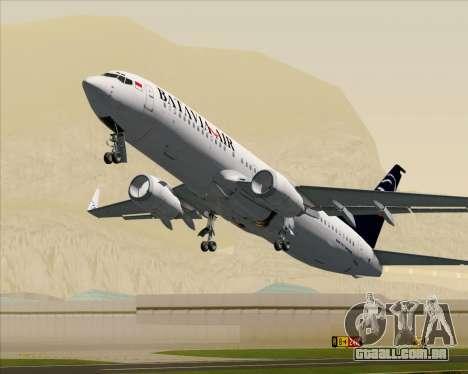 Boeing 737-800 Batavia Air para GTA San Andreas
