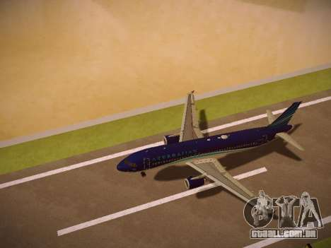 Airbus A320-214 Azerbaijan Airlines AZAL para o motor de GTA San Andreas