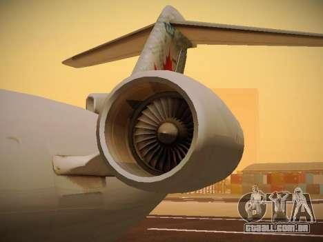 Bombardier CRJ-700 Air Canada Express para GTA San Andreas vista superior