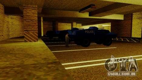 Um novo transporte em LSPD e o seu renascimento para GTA San Andreas quinto tela