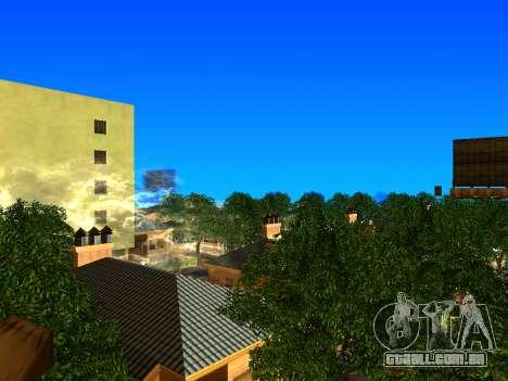 Relax City para GTA San Andreas por diante tela