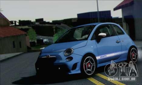 Fiat 500 Abarth 2008 para GTA San Andreas