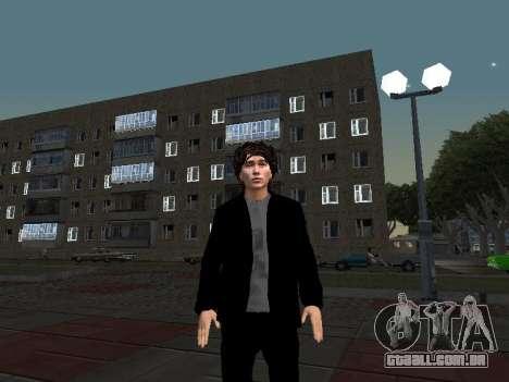Viktor Tsoi para GTA San Andreas terceira tela
