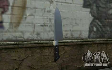 Kitchen Knife from Hitman 2 para GTA San Andreas segunda tela
