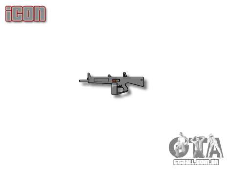 Espingarda Automática De Assalto-12 para GTA 4 terceira tela