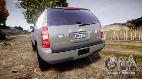 Chevrolet Suburban [ELS] Rims2 para GTA 4 traseira esquerda vista