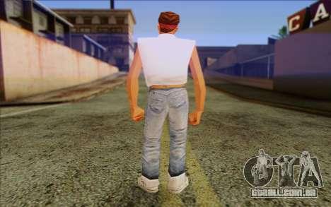 Cuban from GTA Vice City Skin 1 para GTA San Andreas segunda tela