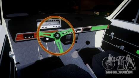 UTILIZANDO-2101 centavo para GTA 4 vista interior