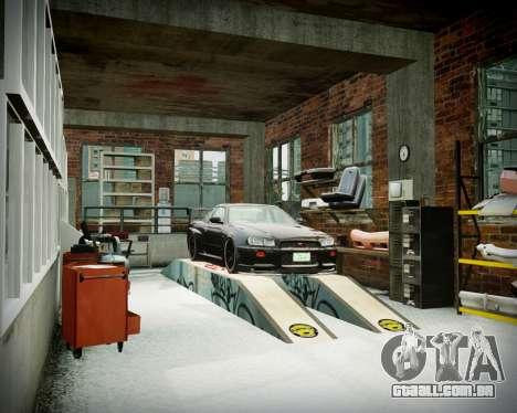 Garagem com novo interior Alcalinas para GTA 4 décimo tela