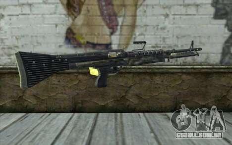 M60 from Battlefield: Vietnam para GTA San Andreas segunda tela