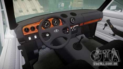 UTILIZANDO-2106 Vossen para GTA 4 vista interior