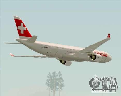 Airbus A330-300X Swiss International Air Lines para o motor de GTA San Andreas