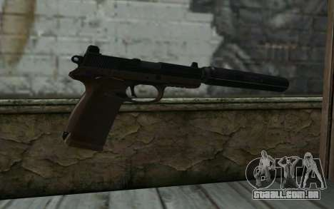 FN FNP-45 Com Silenciador para GTA San Andreas segunda tela