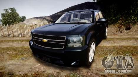 Chevrolet Avalanche 2008 Undercover [ELS] para GTA 4