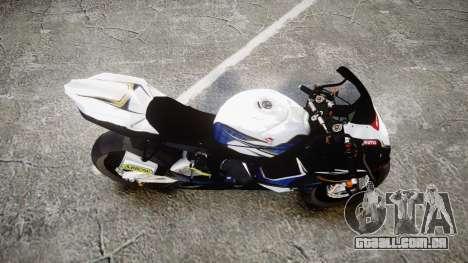 Suzuki GSX-R 1000 K10 para GTA 4 vista direita