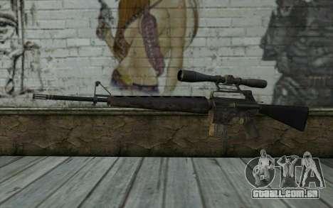 M16S from Battlefield: Vietnam para GTA San Andreas