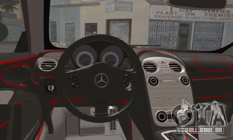 Mercedes-Benz SLR McLaren para GTA San Andreas vista direita