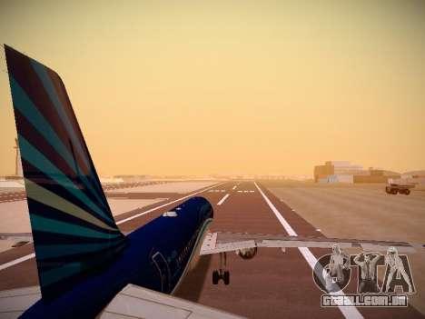 Airbus A320-214 Azerbaijan Airlines AZAL para GTA San Andreas