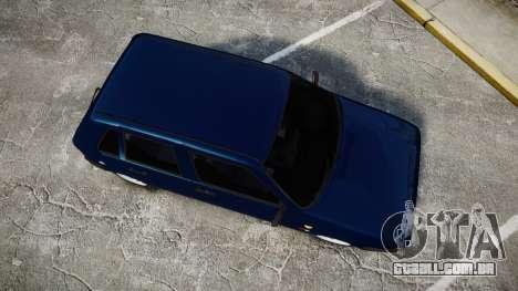 Fiat Uno para GTA 4 vista direita