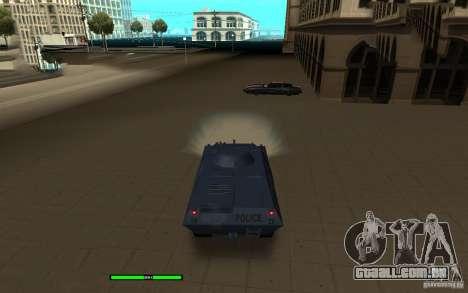 Car Indicator (HP) para GTA San Andreas segunda tela